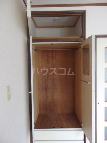 フォレストピアA 106号室の収納
