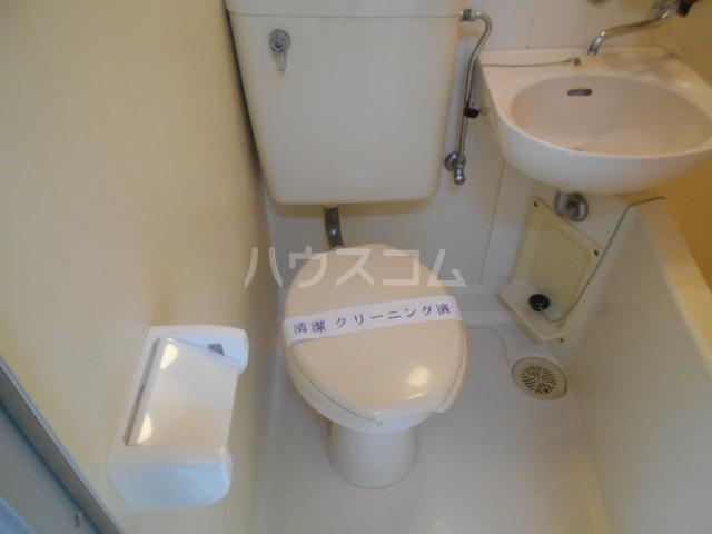 リバーサイド大塚 101号室のトイレ