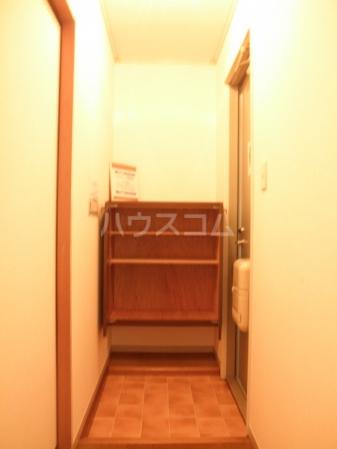 グランドール 101号室の玄関