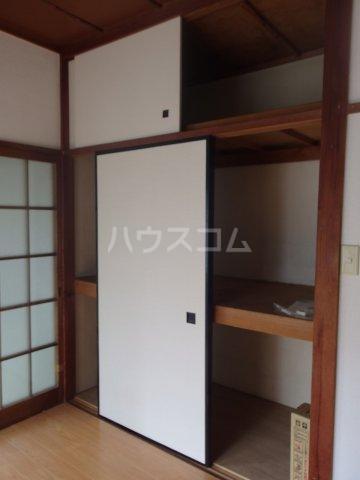 林アパート 101号室の収納