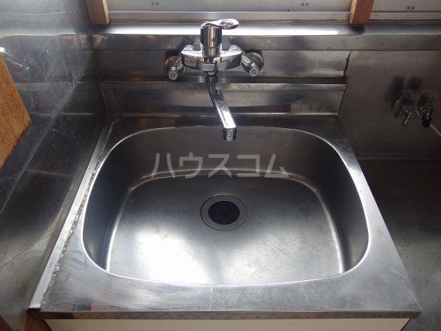 林アパート 101号室の洗面所