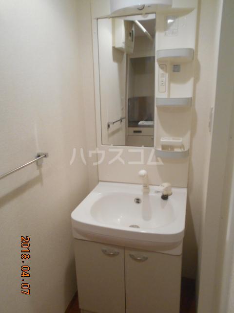 ROXY TAKAHATA 2411 210号室の洗面所