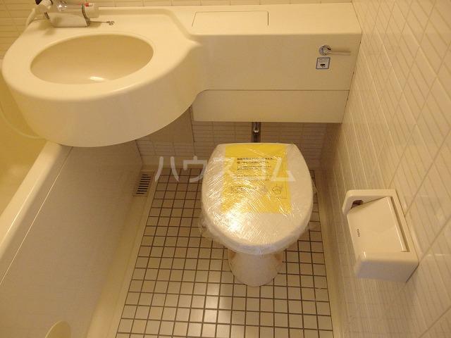 ガーデンヒルズ聖蹟桜ヶ丘 707号室のトイレ