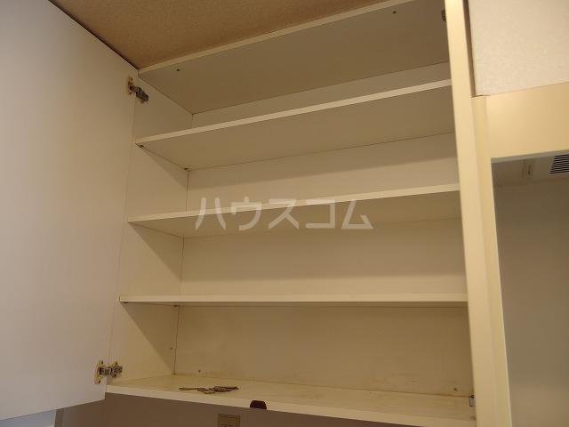 エルム高幡B棟 222号室の収納