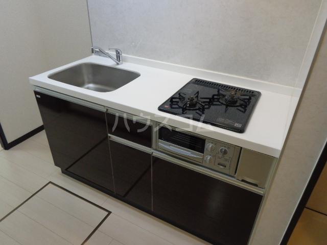 グランドロータス聖蹟 103号室のキッチン