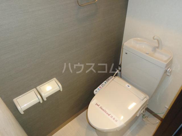 グランドロータス聖蹟 103号室のトイレ