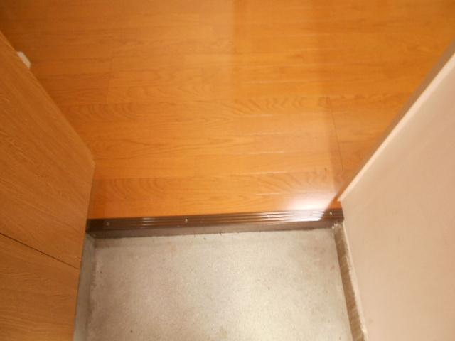 第1スザキハイツ 103号室の玄関