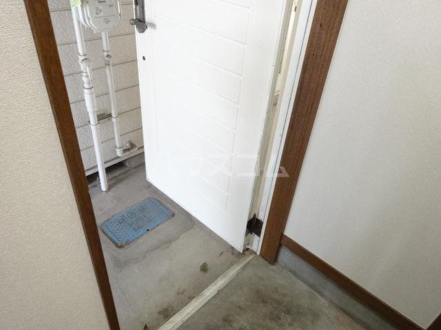 センター・ヴィレッジハイム 107号室の玄関