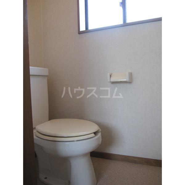 峰岸コーポ 202号室のトイレ