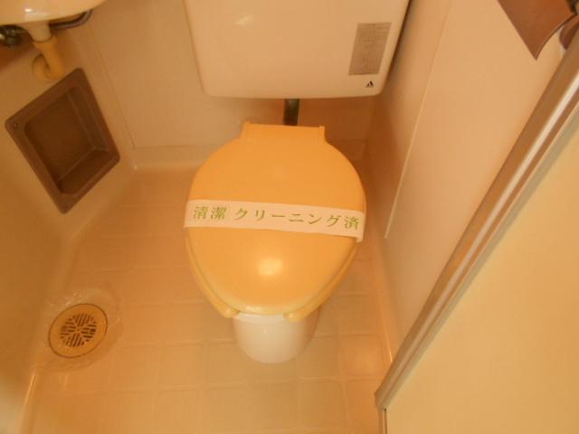 ゆたかハイツ 202号室のトイレ