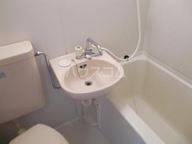 エステートアイ 205号室の洗面所
