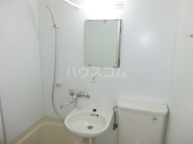 ハイツ旗野Ⅱ 203号室の洗面所