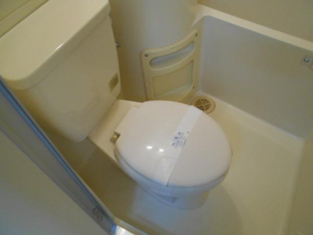 エーデルハイムⅡ D号室のトイレ