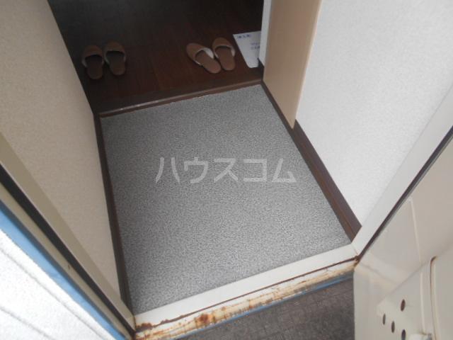 ハイツ・シゲノブC 201号室の玄関