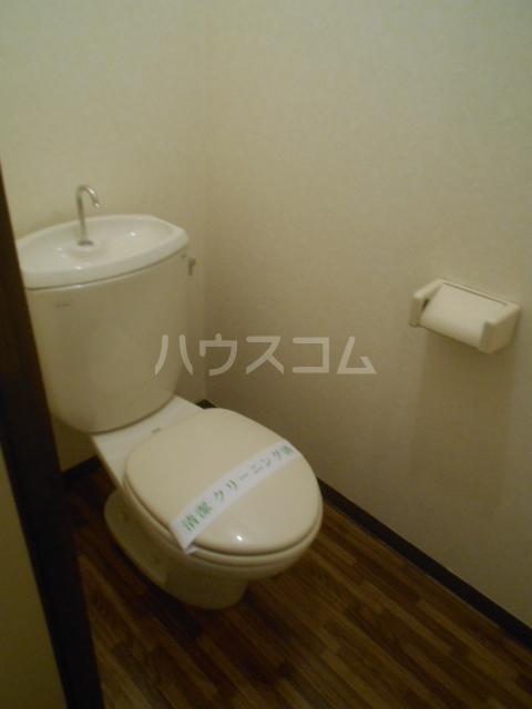 ハイツ・シゲノブC 201号室のトイレ