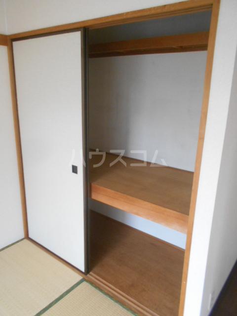 ハイツ・シゲノブC 201号室の収納