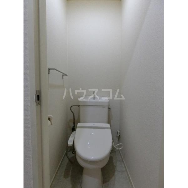 クレールハイムC 305号室のトイレ