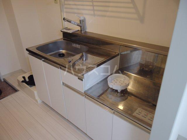 ウィンド聖蹟桜ヶ丘 503号室のキッチン