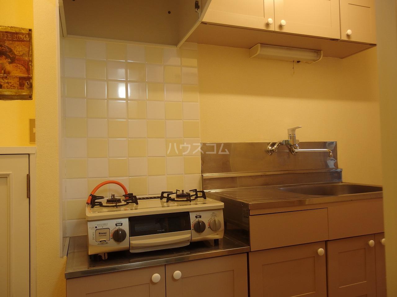 TAMA K'z BELL GARDEN C号室のキッチン