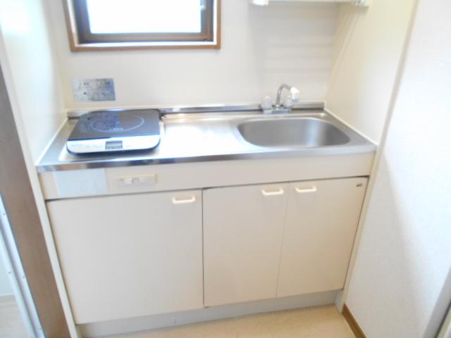グリーンハイツ多摩 201号室のキッチン