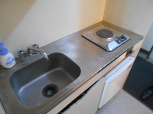ホワイトウイングI・M 205号室のキッチン