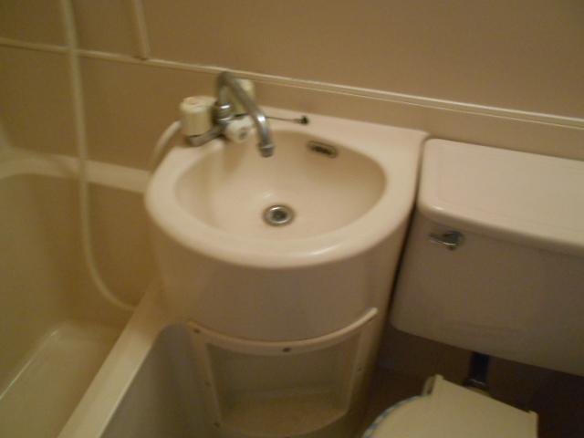 ホワイトウイングI・M 205号室の洗面所