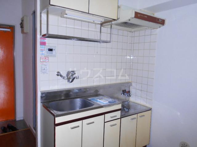 サンクチュアリーフォレスト 603号室のキッチン