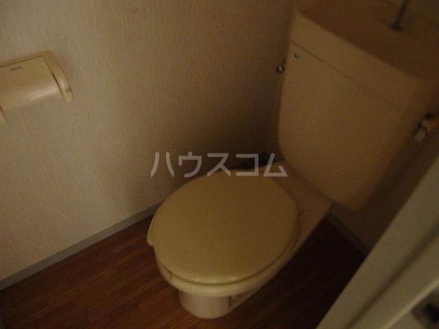 コーポアリセイ 202号室のトイレ