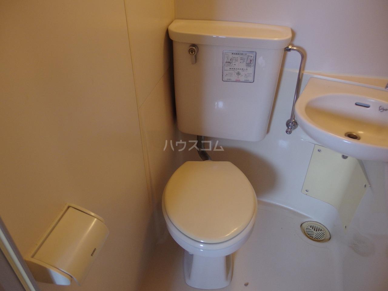 リバーサイド山王下 505号室のトイレ