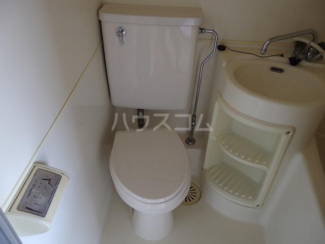 ルミネ豊ヶ丘 305号室のトイレ