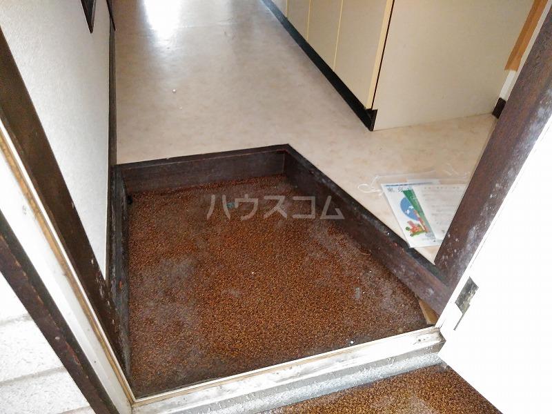 ハイム藤 202号室の玄関