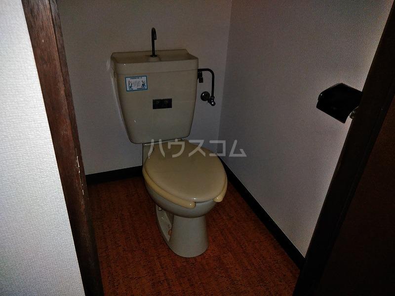 ハイム藤 202号室のトイレ