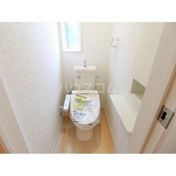 武蔵の杜 4号棟のトイレ