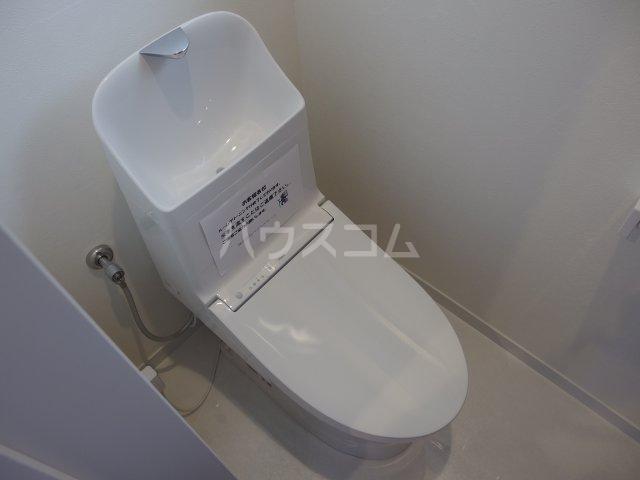 ヴィヴェール桜ヶ丘 101号室のトイレ