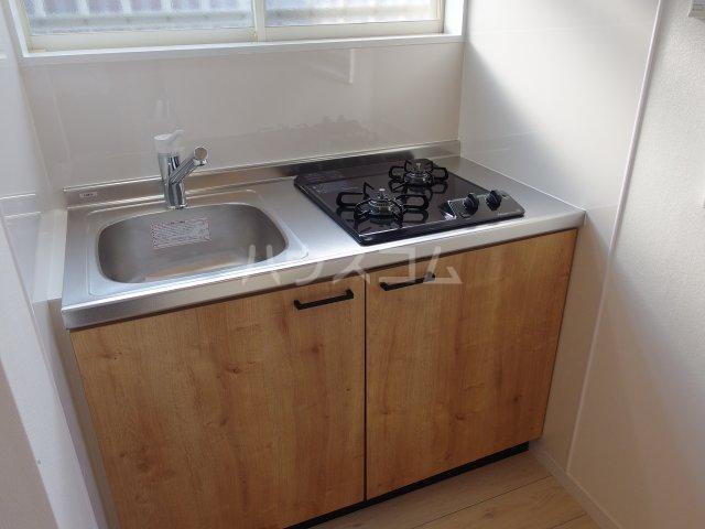 ヴィヴェール桜ヶ丘 202号室のキッチン