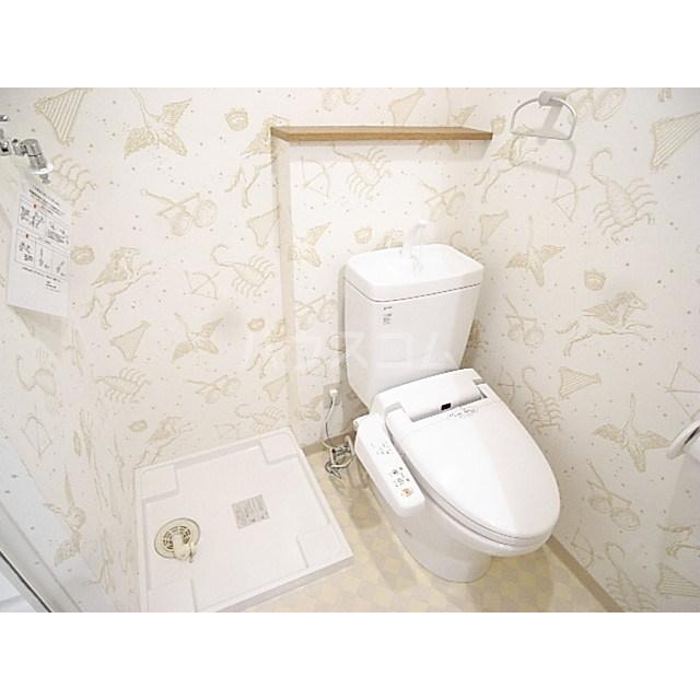 プリマヴェーラ北浦和 401号室のトイレ