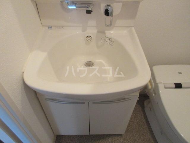 プロシード新栄 1107号室の洗面所