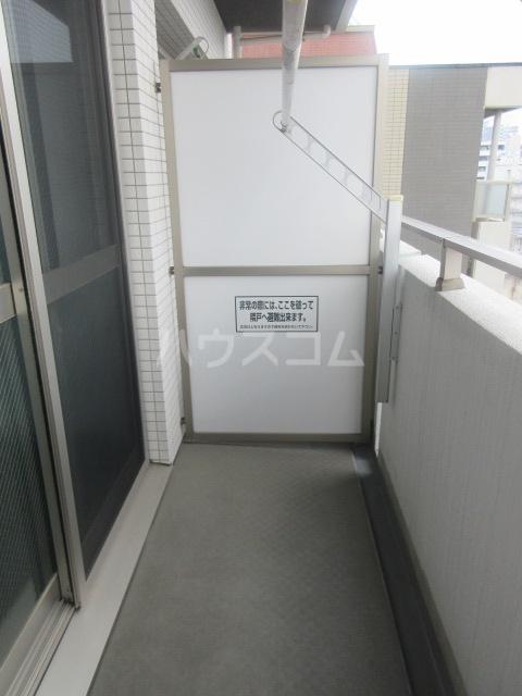 プロシード新栄 1107号室のバルコニー