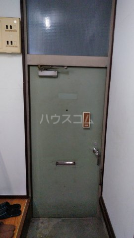 第2菊富士マンション 102号室の玄関