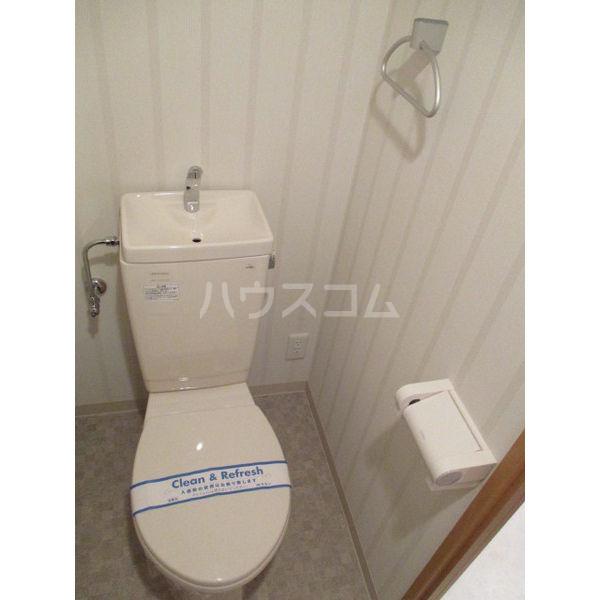 ライジングコート名古屋駅前東 203号室のトイレ