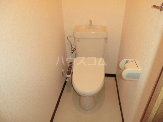 レジダンスボヌール籠原 303号室のトイレ