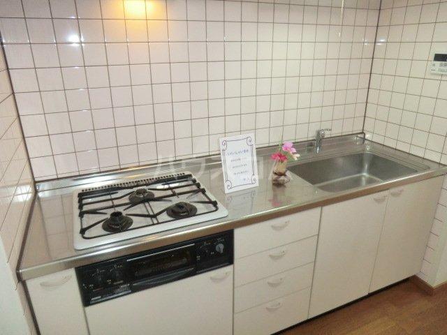 レジダンスボヌール籠原 303号室のキッチン