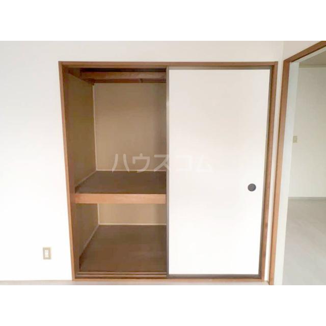 ファミール東松山 203号室の収納