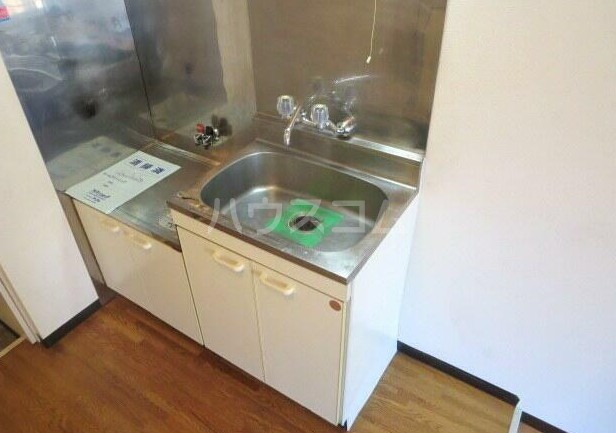 ベルバウム 202号室のキッチン