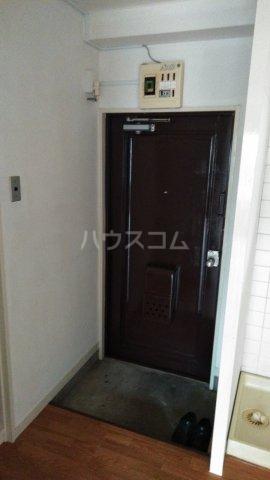 メゾン・ド・ワタナベ 202号室の玄関