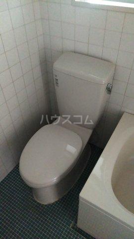 メゾン・ド・ワタナベ 202号室のトイレ