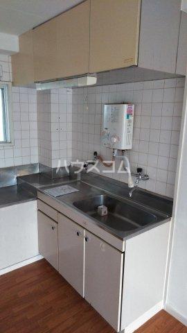メゾン・ド・ワタナベ 202号室のキッチン