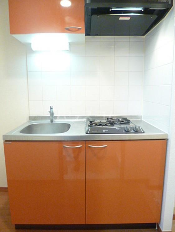 スカイコート池袋第7 605号室のキッチン