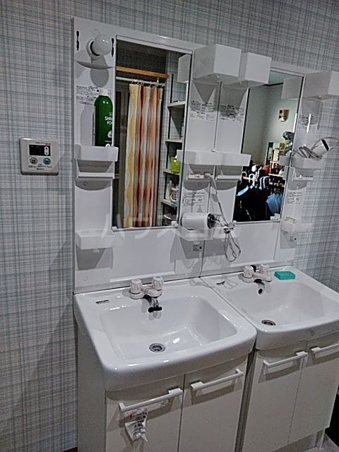 生西寺学寮興学舎 7号室の洗面所