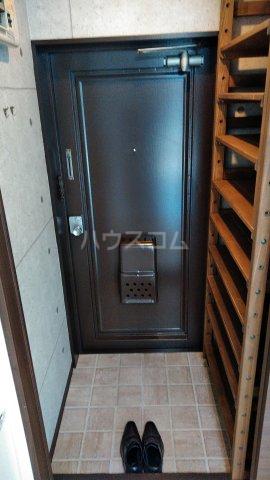 駒込コープ 301号室の玄関